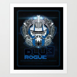 BLU3 Rogue Hunter - Deluxe Art Print