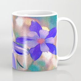 Colorado Columbine Flower Coffee Mug