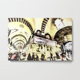 Spice Bazaar Istanbul Art Metal Print