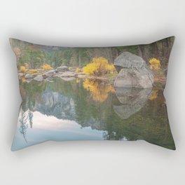 Merced River Fall Rectangular Pillow