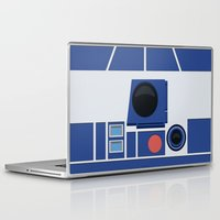 boob Laptop & iPad Skins featuring R2-D2 by dudsbessa