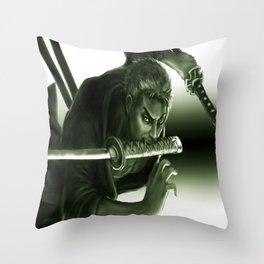 zoro Throw Pillow
