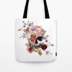 Skull and Flowers II Tote Bag