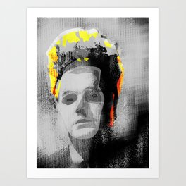 Erase my Head Art Print