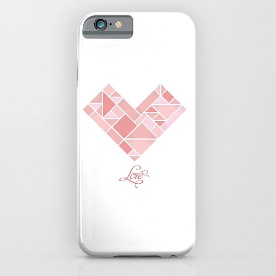 Love Shapes iPhone & iPod Case