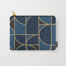 Art Deco Morning Dance In Blue Carry-All Pouch