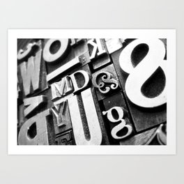 Metalpress Art Print
