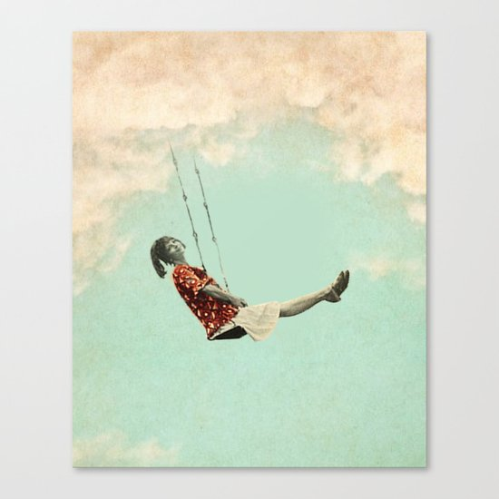 Mary's Breath of Heaven Canvas Print