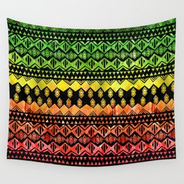 One Love Tribal {black} Wall Tapestry