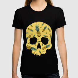 Skull Pineapple Y T-shirt