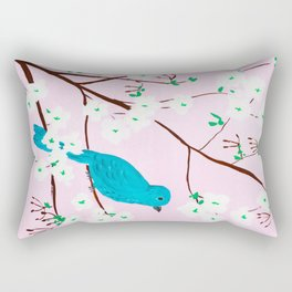 Cherry Blossoms Rectangular Pillow