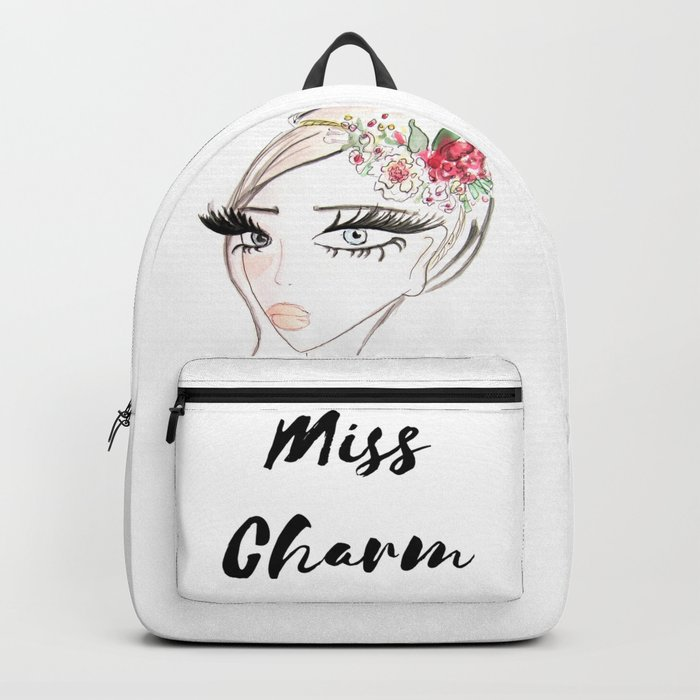 Flowers in  the hair Backpack