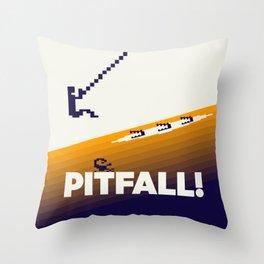 Pitfall Throw Pillow