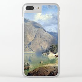 August Wilhelm Leu Tarn Clear iPhone Case