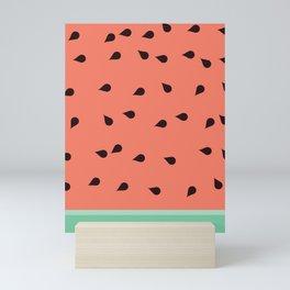 SCATTERED WATERMELON Mini Art Print