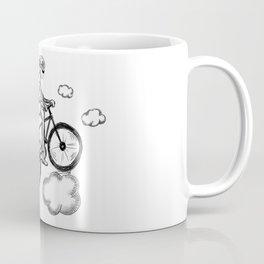 Biking in the Clouds Coffee Mug