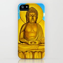 In Arte, Buddha iPhone Case