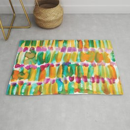 3   | 191128 | Abstract Watercolor Pattern Painting Rug