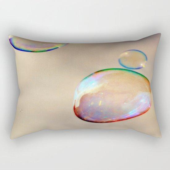 bubbles on the sky Rectangular Pillow
