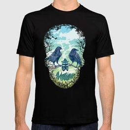 Nature's Skull (Green) T-shirt