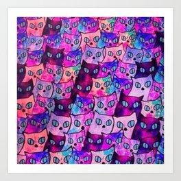 cats 47 Art Print
