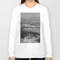 cloud Long Sleeve T-shirts featuring cloud by habish
