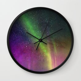 Make a Wish on a Shooting Star Wall Clock
