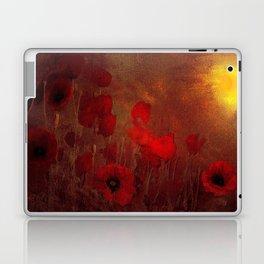 FLOWERS - Poppy heaven Laptop & iPad Skin