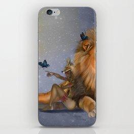I Dream of Butterflies iPhone Skin