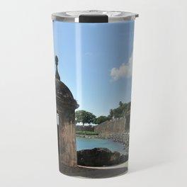 San Juan,fortress Travel Mug