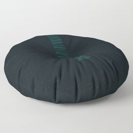 Monolithe Dark 4 Floor Pillow