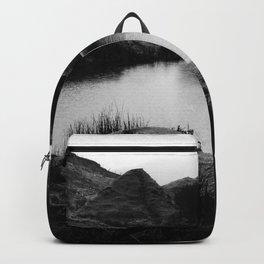Fairy Glen, Isle of Skye, B/W Backpack