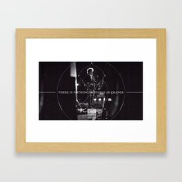 There Is Nothing So Stable As Change Framed Art Print