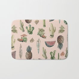 Drawing Nature Stuff Bath Mat