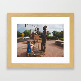 Sedona Painter Framed Art Print
