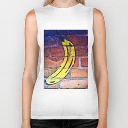 Life is a Banana Biker Tank