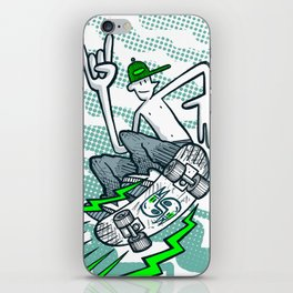 Skate Air iPhone Skin