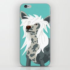 Chinese Crested iPhone & iPod Skin