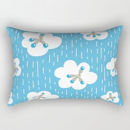 Methane Molecules And The Greenhouse Effect Rectangular Pillow