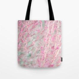Pastel Plant Tote Bag