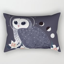 Familiar - Sooty Owl Rectangular Pillow