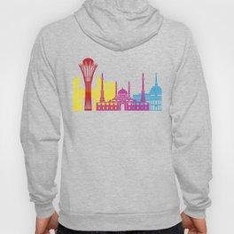 Astana skyline pop Hoody