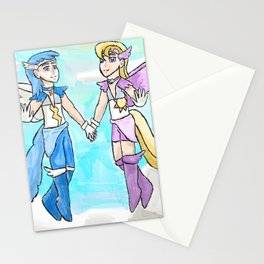 Magical Bronie Boys Lightning Bolt And Cloud Kicker Stationery Cards