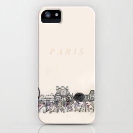 Jardins des Tuileries iPhone Case