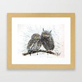 little owl's Framed Art Print