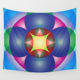 Atoms 31 Wall Tapestry
