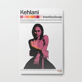 Kehlani. Metal Print