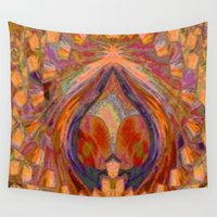 wine Wall Tapestries featuring Summer Wine by EliB-Art