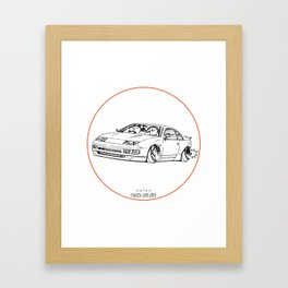 Crazy Car Art 0216 Framed Art Print