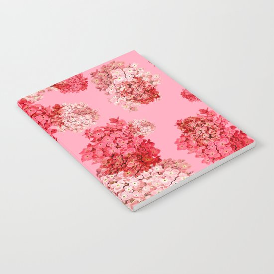 hydrangea (doubled) Notebook